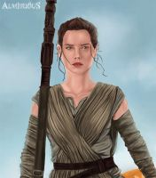 Rey by Almerious