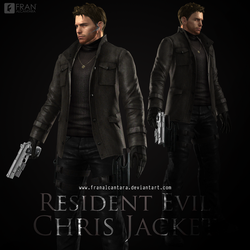 XPS - Chris Redfield - Jacket Mod by FrankAlcantara