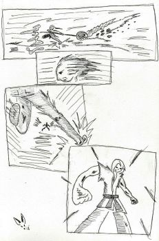 Trials in Sakuga: Page 1 by Scratch-Rabbit