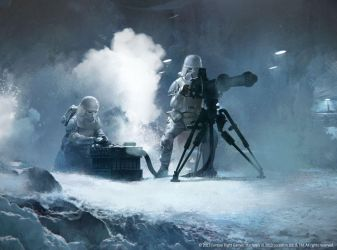 Snowtroopers assault by agnidevi