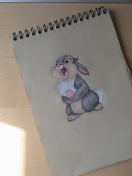 Bunny (Thumper) by Mila076