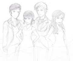 The Fab Four - Rough Draft by Northstar2790