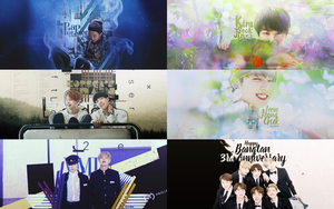 HAPPY BTS 3RD ANNIVERSARY by LinYookie