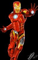 Iron Man by Jefra