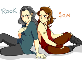 Rook And Arin by crazy-or-nah