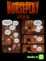 Apocalyptic Horseplay - CH1 Ep1 by Boredman
