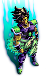 NEW BROLY by BRAINandFAT
