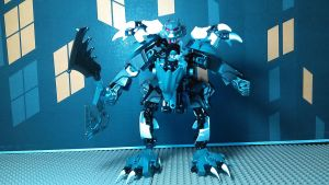 Werewolf V3 (Robot Mode) by sideshowOfMadness