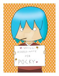 Will Assassinate for Pocky by quazo