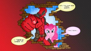 So Pinkie, about that 4th wall... by PoisonRogue