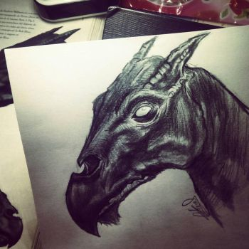 Thestral by Shxdows