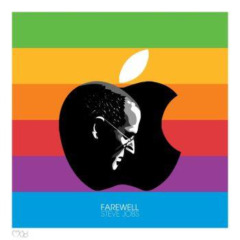Steve Jobs by rjwarrier