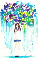 Raining thoughts by Mirrei