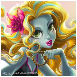 Beautiful Day Lagoona Blue by KelleeArt