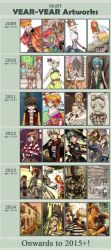 Improvement Meme 2009-2014 by MiiBT