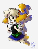 ACNL - Isabelle by br3nna