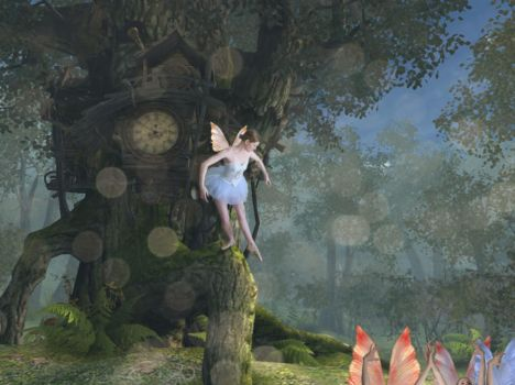 dance of the fairies by TalentedChild