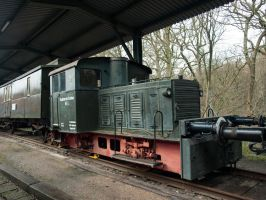 STOCK Old Locomotive 01 by Inilein