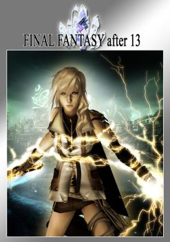 Final Fantasy after 13 special Cover by SerenaKaori87