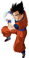 gohan mistico by naironkr