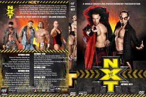 WWE NXT October 2013 DVD Cover by Chirantha