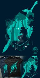Song of time tee by TheRealRaki