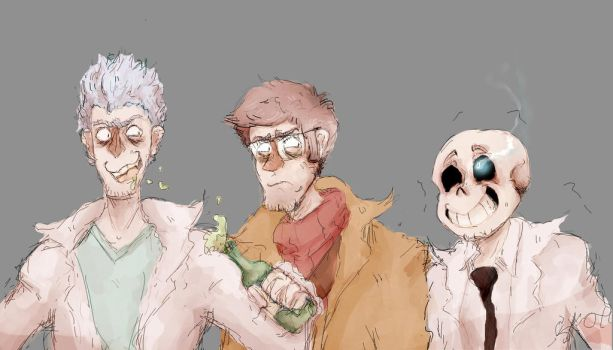The Trouble Trio by IronicPhonic