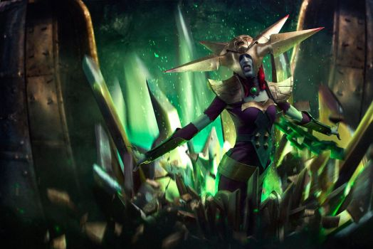 Blade Queen Lissandra Cosplay by KNami