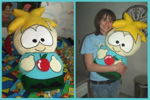 Butters Pillow by JaimeNWester