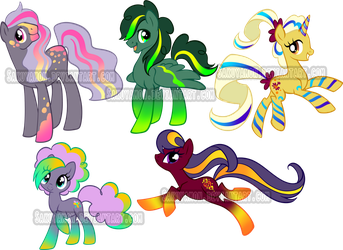 Color My Little Pony Adoptable 1 by Sakuyamon