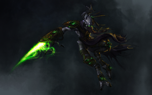 Zeratul Wallpaper Darkmod by hyperwired