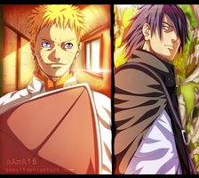 manga naruto 700- naruto and sasuke the end by sAmA15