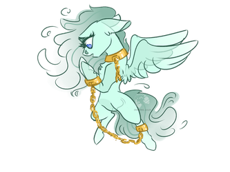 Comm:. Adopt: Tethered Soul by DrawingJules by MegaManSceptile