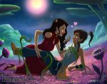 Avatar,  Korra and Asami by StickyScribbles