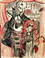 WoY: Darling, you look Morbidly Handsome ~ by xLittle-Miss-Horrorx