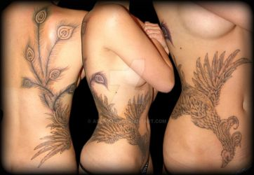 Phoenix Tattoo 2 by asussman