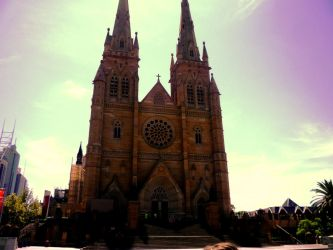 St Mary's Cathedral- Sydney by xjamiee