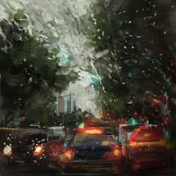 raining by zhuzhu