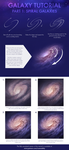 Galaxy Tutorial Part 1: Spiral Galaxies by CosmosKitty