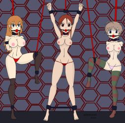 Strike Witches Topless by Nidrog
