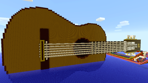 Minecraft - Guitar by Ludolik