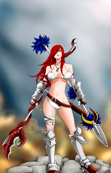 The last one standing // Erza Scarlet by Mirajanee