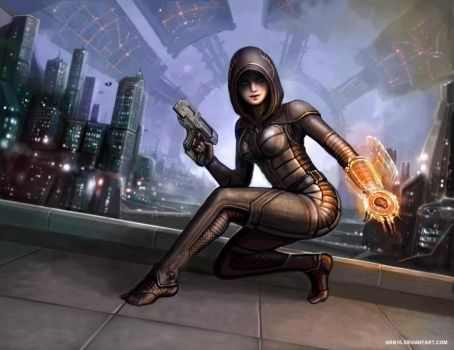 Kasumi the Thief by SirTiefling