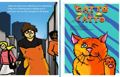 Gatto the Catto - A Children's Book by Dinahmite64
