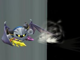 Meta Knight dodges the void by theyoshifanboy