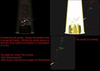 FIVE NIGHTS AT FREDDY'S 3 HIDDEN IMAGE by DarkSpace141