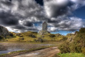 Smailholm Tower by cthonus