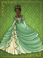 Queen Tiana- Disney Queen designer collection by GFantasy92