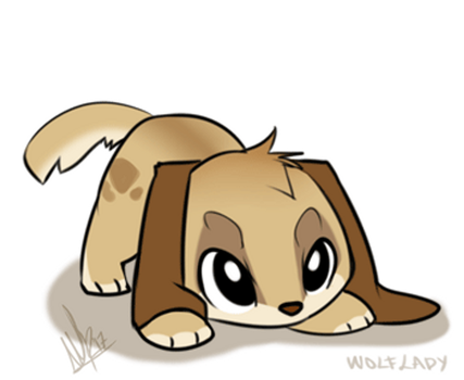 Happy Dog by WolfRoxy
