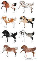 Horse Adopts - Open by WhimseyAdopts